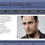 Newly re-launched site for a local optometrist.